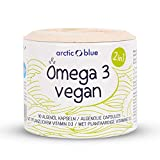 Omega 3 Algenöl Kapseln mit Vitamin D3 – leicht zu schlucken, nachhaltig produziert, hochdosiert – 90 Softgel Dragees je 500 mg Algenöl, 250 mg DHA & Vitamin D3 800 i.E. - niedriger Oxidationswert