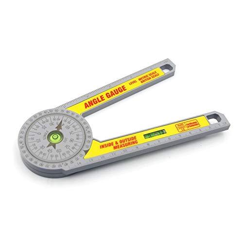 Winkel lineal Winkelmesser Tischler Installateure und Baugewerbsparlaments Home Use Holzverarbeitung Messwerkzeug Metric und britischen Maßstab Winkelmesser Gehrungssäge Protractor zimmerei werkzeug