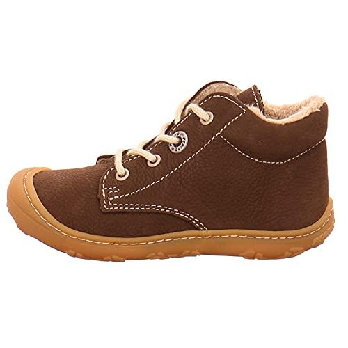 RICOSTA Pepino Unisex - Kinder Winterstiefel CORANY, WMS: Mittel, Spielen Freizeit leger Winter-Boots Outdoor-Kinderschuhe,Marone,21 EU / 5 UK
