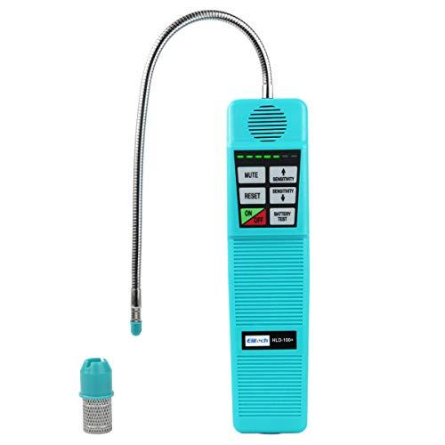 Elitech HLD-100+ Bombilla halógena Detector de fugas de Detector de fugas de gases con Detector de alta sensibilidad 3 G ano, ✩Garantía de 12 meses✩