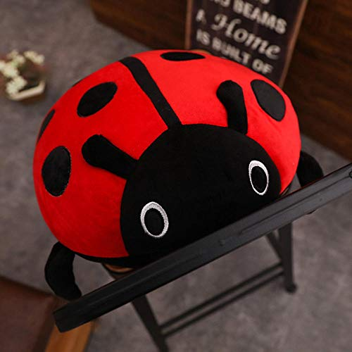 YGDH Cute Plush Toy Soft Creative Ladybug Ladybird Insect Hold Doll Pillow Cushion Novelty Children Birthday Gift (Color : 80cm)