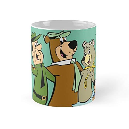 Yogi Bears Friends Coffee Mug 11oz Ceramic Tea Cups