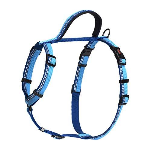 HALTI Walking Hunde-Brustgeschirr (68-100cm) (Blau)