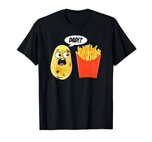 Potato Tater Tayto French Fry Fries Dad T-Shirt