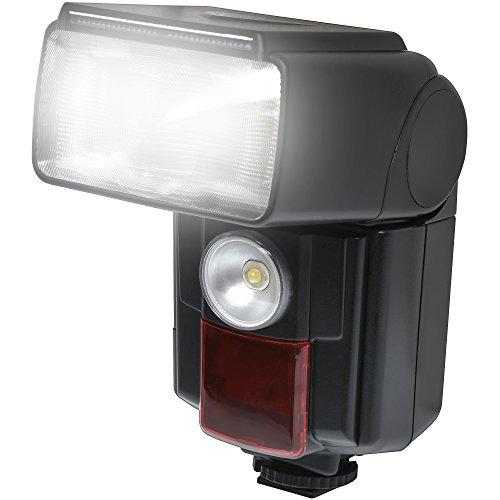 Precision Design DSLR450V High Power Auto Flash with LED Video Light