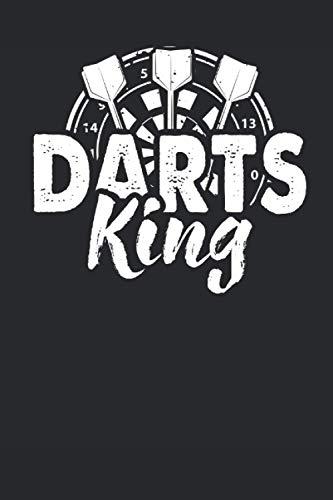 Darts King: 6\' x 9\' Notizbuch (liniert) Darts King Dartsport Dartscheibe