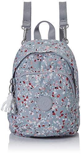 Kipling Delia Compact Women's Backpack, Multicolour (Speckled), 18x23.5x13 Centimeters (B x H x T)