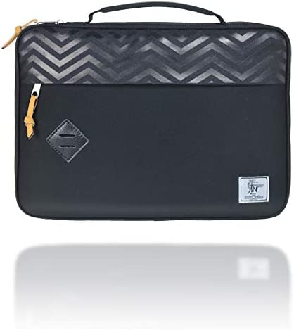 Campus Chevron Notebook Sleeve Apple Ultrabook Notebook Carrying Case Handbag for 14 15 Samsung product image
