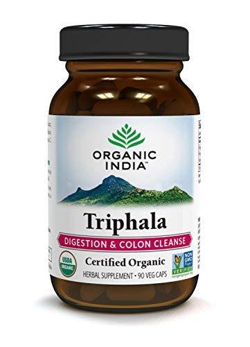 ORGANIC INDIA Triphala, Digestive Support (90 Cap)