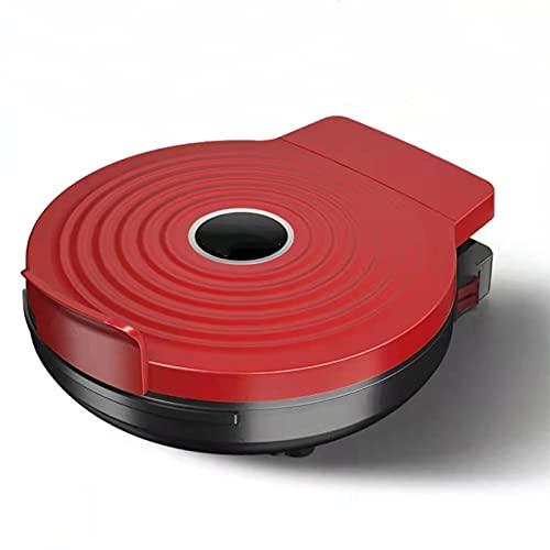 N / B Cacerola eléctrica de 1200W con Recubrimiento Antiadherente, panqueque de calefacción de Doble Cara, Interruptor de Control de Temperatura Independiente, para quesadillas, Desayuno