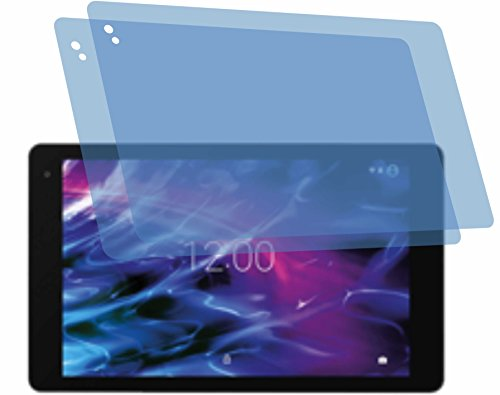 4ProTec I 2X Crystal Clear klar Schutzfolie für Medion Lifetab P10602 P10605 X10605 X10607 Bildschirmschutzfolie Displayschutzfolie Schutzhülle Bildschirmschutz Bildschirmfolie Folie