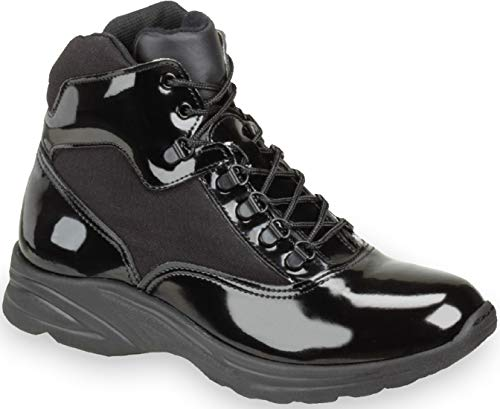 """Thorogood Men's 831-6833 Uniform Classics 6"""" Poromeric Cross-Trainer Plus Boot, Black - 11 M US"""