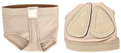 Professionnel pour Orteils/Ballet Dance Chaussures Pad Pratique Pied String Protection Danse Guêtres Chaussettes pour Femme Accessoires XL