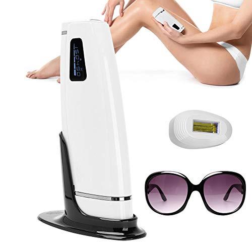 Elektrisch IPL-ontharingsapparaat, 500000 flash-epilatoren, 5 ontharingsmodi voor dames en heren, scheermessen voor gezicht, lichaam, bikinilijn, oksels(UK)