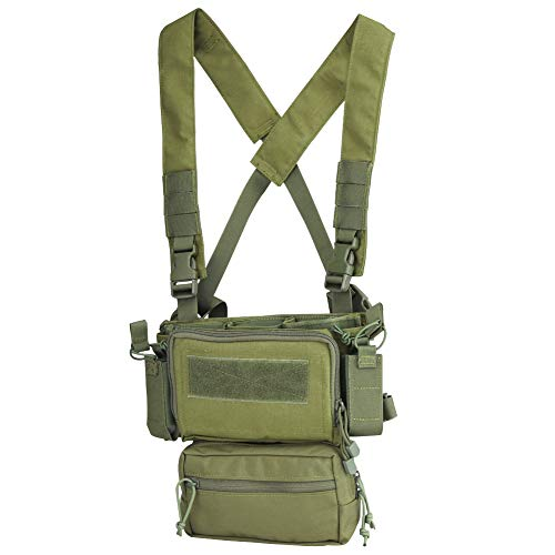 OAREA Hunting Tactical Vest Magazine Pouch Modular Chest Rig Set
