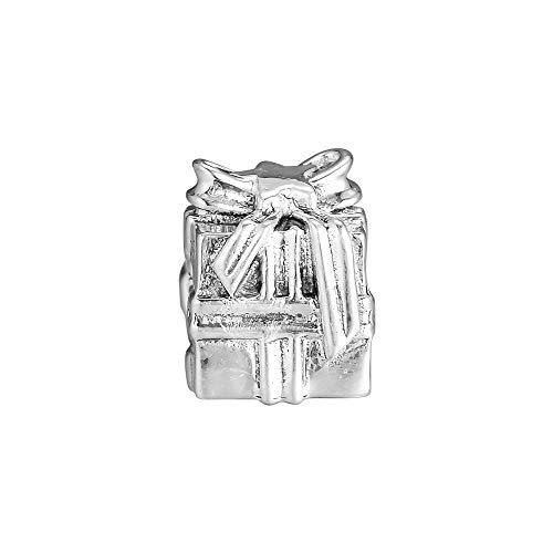 Joyería De Plata De Ley 925 para Mujer Cuentas Brillantes para Encontrar Dijes Que Se Ajustan A Pulseras Pandora Europeas Collares Fabricación De Joyas DIY