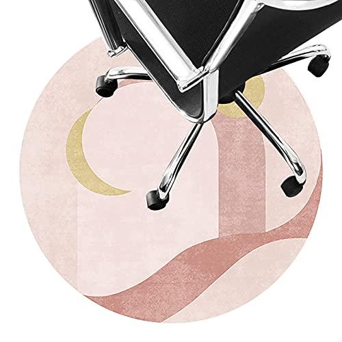 LLKK Alfombrillas de oficina para alfombra antideslizante para piso de pelo corto, alfombra silenciosa, fácil de limpiar (tamaño: 160 cm, color: A)