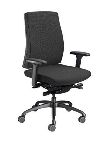Löffler Figo 1950 Ergonomischer Bürostuhl Drehstuhl 3D-Sitztechnologie ErgoTop