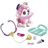 VTech 80-529704 Whoopie, il paziente per cani con animali domestici elettronici con accessori