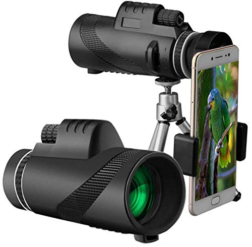 Fantastic Prices! LFFCC Monocular,40x60 High Power Monocular Telescope Waterproof Scope with Quick S...