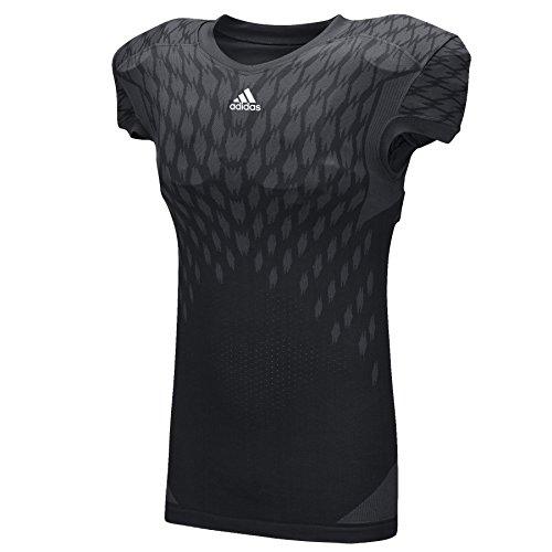 Adidas Mens Techfit Primeknit Football Jersey L Black
