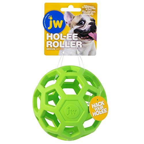 JW JW43111 Juguete HOL-EE Roller Medium, Juguete para Perros Masticar Y Morder, M