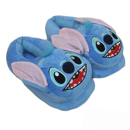 Zapatillas Stitch Plush Warm Shoes Puntada con Zapatillas de algodón
