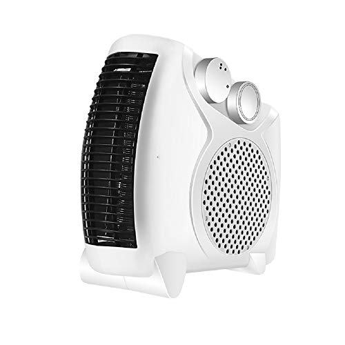 LUCKYFF Mini Electric Heater For Horizontal and Vertical Use, Quiet Portable Tabletop Heater For Quick Heating Overheat Protection Desk Kitchen Bedroom and Dormitory Indoor Personal Heater