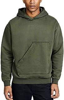 The SV Style Unisex Plain Olive Green Hoodie/Graphic Printed Hoodie/Hoodie for Men & Women/Warm Hoodie/Unisex Hoodie