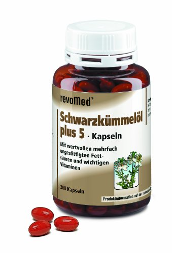 Revomed - Schwarzkümmelöl Plus Kapseln