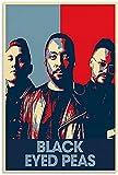 FEGASDF Black Eyed Peas Leinwand Kunst Poster und Wandkunst
