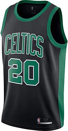 Gordon Hayward Boston Celtics #20 Official Youth 8-20 Swingman Jersey (Large, Gordon Hayward Boston Celtics Black Statement Edition)