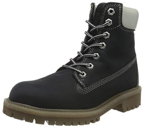 Tom Tailor Womens 9099601 Mid Calf Boot Bootie Boot, Navy, 6.5 UK (39 EU)
