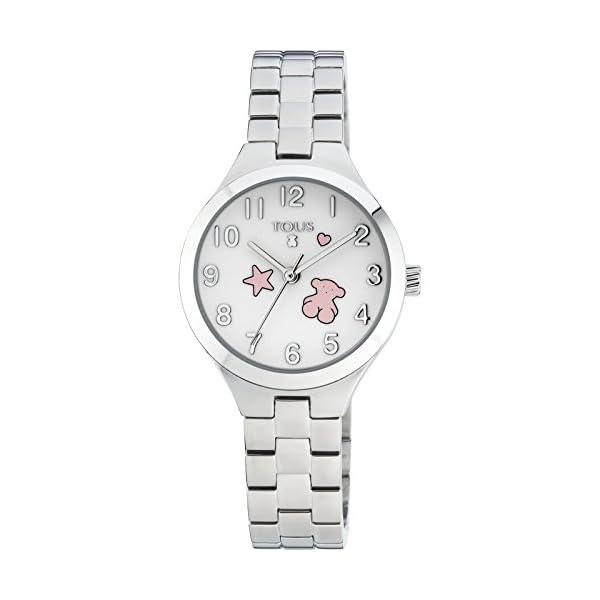 Reloj TOUS Muffin de acero Ref:700350045