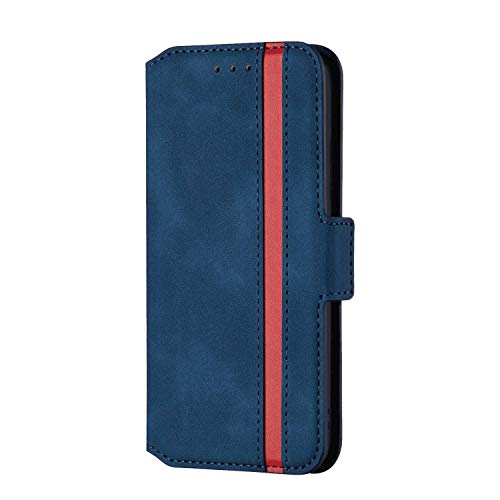 Check Out This OOALUCK Leather Cover Compatible with Samsung Galaxy S9, Kickstand Extra-Shockproof C...