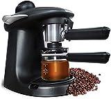 N\C Máquina de café Máquina de café expreso Italiana Cafeteras semiautomáticas Máquina de café de Lujo Cocina Mini hogar Mediano 5Bar 220V Chen
