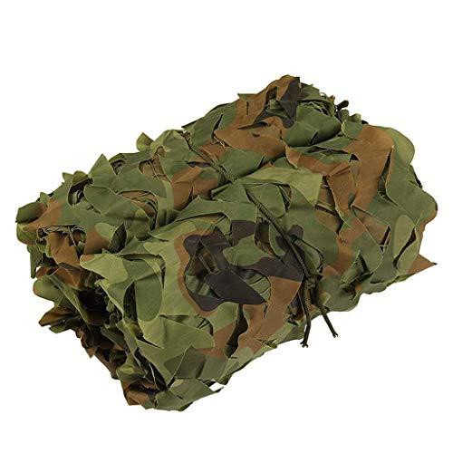 XUE Tarnnetz 5x7M für die Jagd Camouflage Netz für Bundeswehr Sniper Armee Fotografie Sonnenschutz Deko Militär Garten