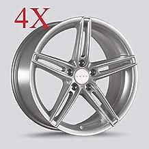 Drag DR-73 Wheels 18x8 5x114.3 Silver Rims