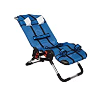 Anchor Pediatric Bath Chair for Kids with Special Needs by Circle Specialty- Adjustable Bath Chair for Children & Teens- Fast-Drying Mesh Fabric, Head Rest, Support Bars, Positioning Straps (Small)