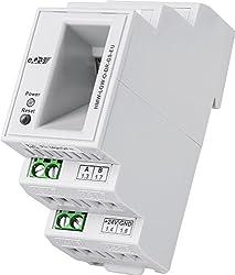 HomeMatic RS485-Gateway für CCU2, Hutschienenmontage