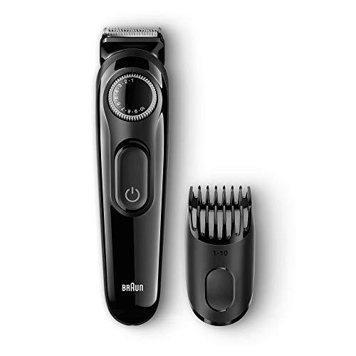 Braun Tondeuse à barbe BT3022, Tondeuse barbe et cheveux, Noir