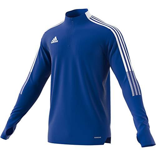 adidas TIRO21 TR Top Pullover, Mens, Team Royal Blue, S