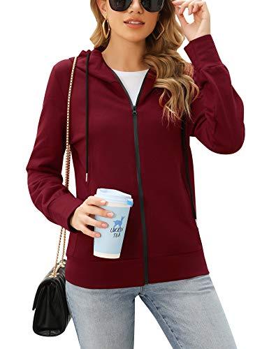 Irevial damskie bluzy z kapturem bluza z kapturem bluza z kapturem z długim rękawem kurtki topy ze sznurkiem rozmiar plus