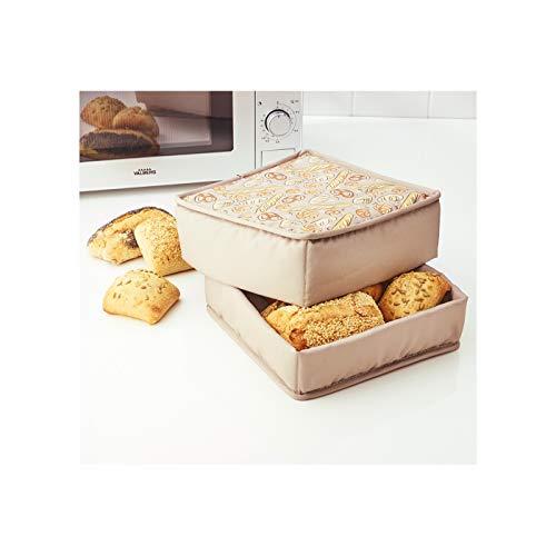 Elicuisine – Cesta para calentar pan microondas