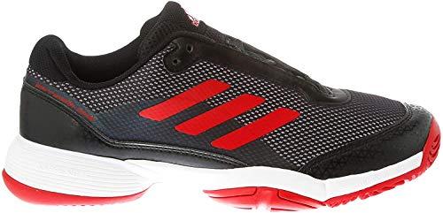 Adidas Barricade Club Xj, Zapatillas de Tenis Unisex niño, Negro (Negro 000), 38 EU