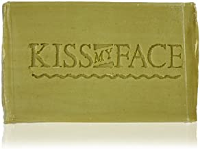 Kiss My Face Naked Pure Olive Oil Bar Soap, 4oz Bars, 6 Bars Total