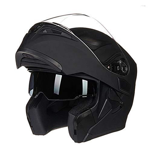 Travel Pillows Casco para Motocicleta Casco Modular Que se Puede Abrir Dot/ECE Casco Integral con Tapa Integral Casco de Seguridad Integrado con Visor de Gafas