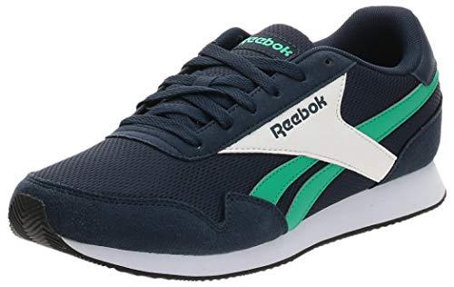 Reebok Royal CL Jogger 3, Zapatillas de Running Unisex Adulto, VECNAV/COUGRN/Blanco, 43 EU
