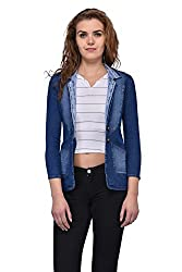 Style Souk Womens Denim Regular Fit Jacket