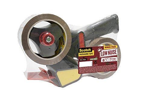Scotch Tendinastro Dispenser per nastro da imballaggio 3M, Avana, 50 mm